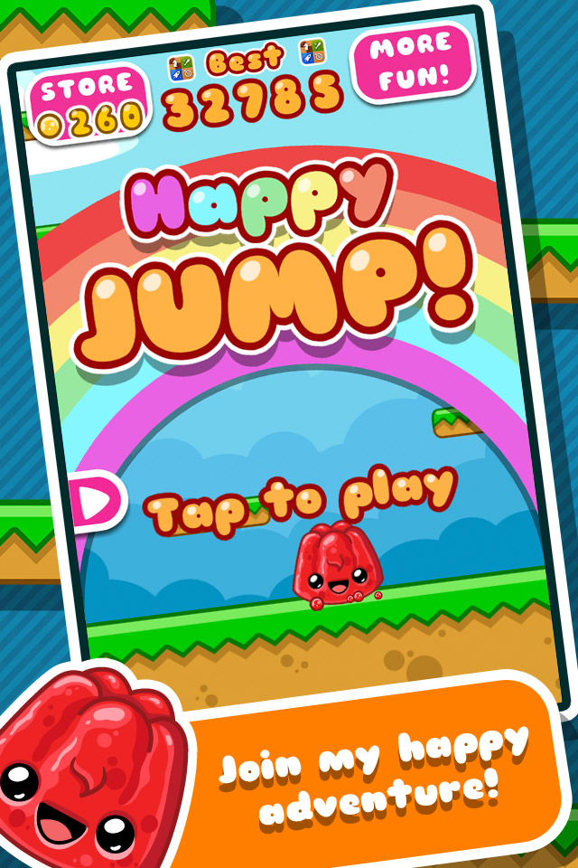 Happy Jump Games Arcade Action free app for iPhone, iPad