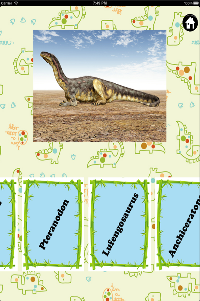 Screenshot Dino Fun – Children's Educational Dinosaurs Game